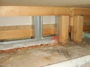 中古マンションの床下