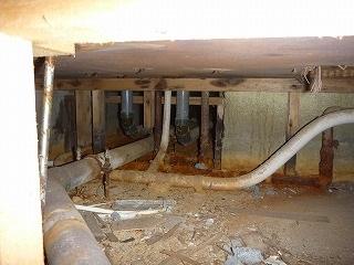 中古マンションインスペクション現場事例 ~床下の水漏れ・不具合